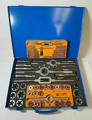 64 Piece Fractional Tap And Round Die Set 431-20064 A1-a0010
