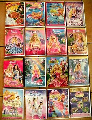 Lot of 16 - Barbie DVD