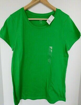 NWT GAP Women's Favorite Crew Neck T-Shirt Green Sizes XS S L Free Shipping New