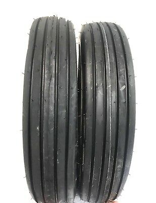 Two 600x166.00-16 Rib Implement Farm Tractor Tires Disc Do-all 6 Ply 600-16
