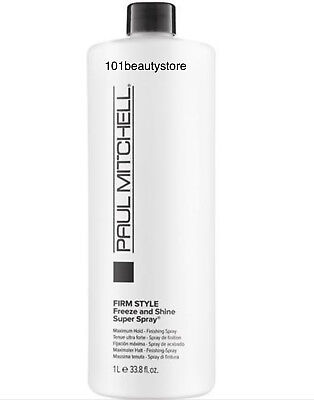 Paul Mitchell Firm Style Freeze and Shine Super Spray 33.8 oz**NEW PACKAGING**