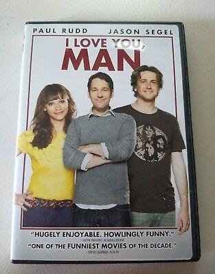 I Love You, Man (DVD, 2009, Sensormatic) Paul Rudd, Jason Segel