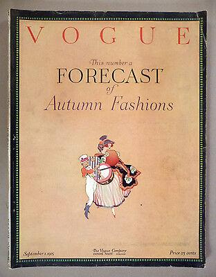 Vogue Magazine - September 1, 1915 ~~ Fall Fashions