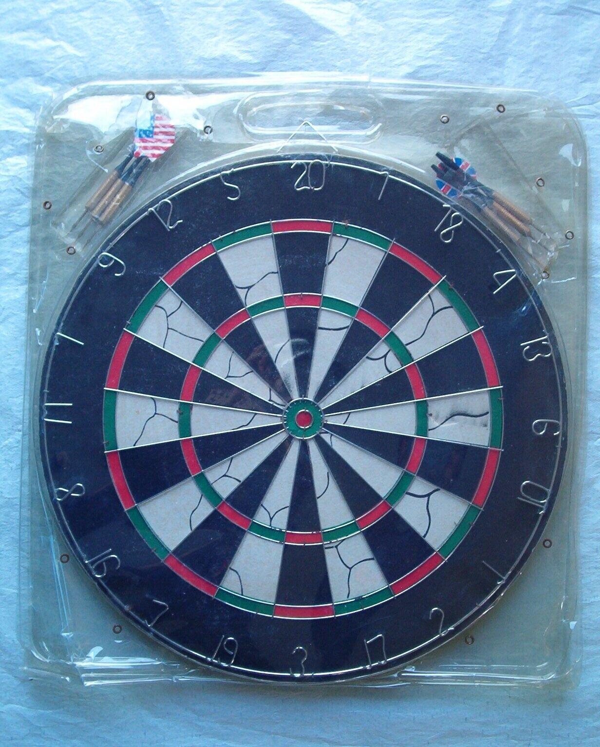 game room dart set with 6 steel
