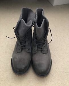 Women's Timberland Rolldown Suede Boots Size 9