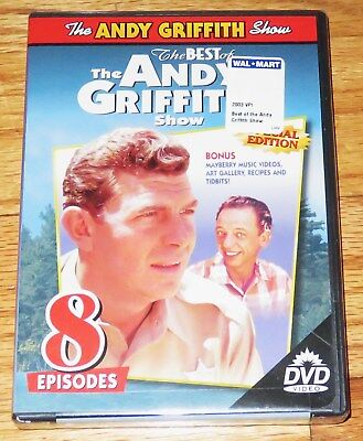 The Best of The Andy Griffith Show (DVD, 2000, Special Edition) 8 Episodes NEW