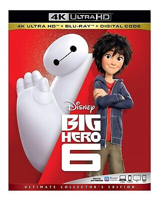 Big Hero 6 [4K Ultra HD Blu-ray/Blu-ray] [2014]