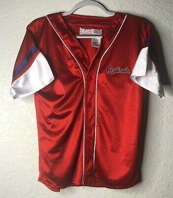 Vintage Pro Stuff St Louis Cardinals Youth Large Warm-up Jersey MLB Baseball St Louis Cardinals