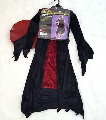 Dress Up Vampire Halloween (NWT Totally Ghoul Gothic Vampire Halloween Costume Dress Up Large Ages 8-14)