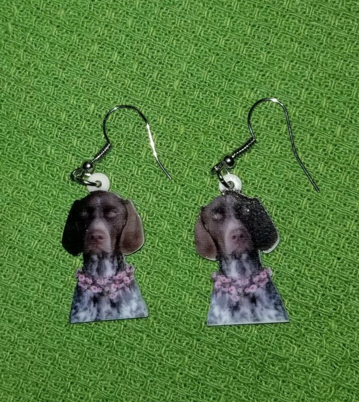 German Shorthaired Pointer Dog lightweight fun earrings  jewelry FREE SHIPPING!