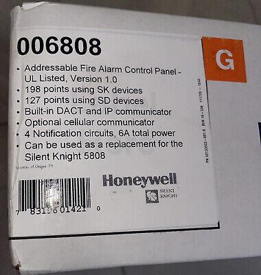 Silent Knight 6808 Fire Alarm Contro Panel Brand New