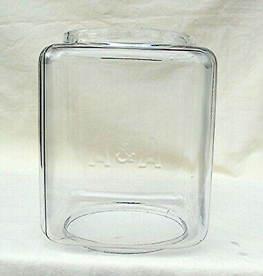 Oak Acorn AA embossed Gumball Machine 9 pound Vending Machine glass globe