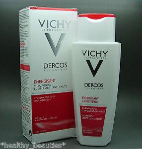 Vichy Dercos Energising Hair anti loss shampoo with aminexil, 200ml new!
