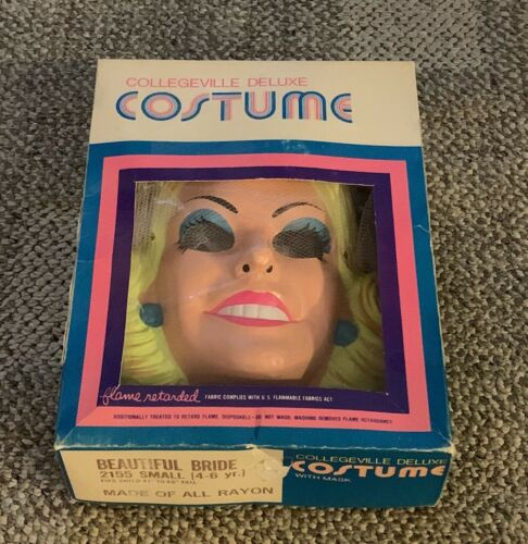 COLLEGEVILLE  BEAUTIFUL BRIDE  HALLOWEEN COSTUME  C. 1980