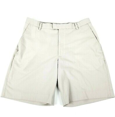 Tiger Woods Collection Golf Shorts Khaki Size 36 Polyester