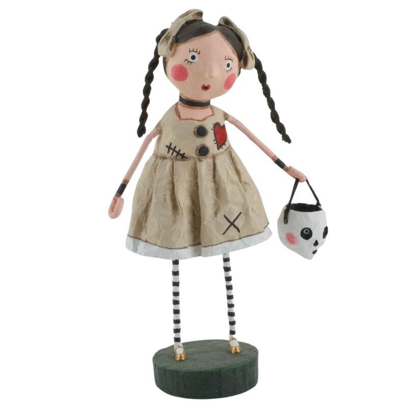 Lori Mitchell Halloween Voo Doo Sue Trick or Treater Folk Art Figurine