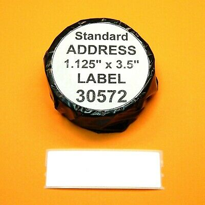 350 Address Labels Fit Dymo 30572 - Usa Made Bpa Free