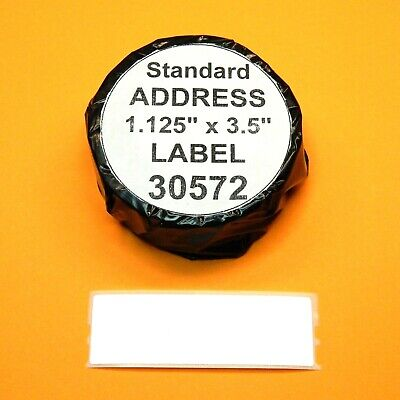 1400 Address Labels Fit Dymo 30572 - Usa Made Bpa Free