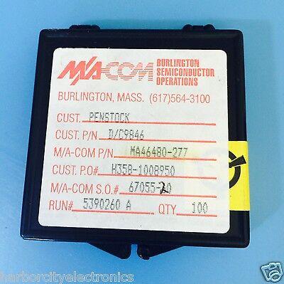 Ma46480-277 Ma-com Capacitance Diode Vhf-ka Band 3.7pf 22v Hyperabrupt Variable