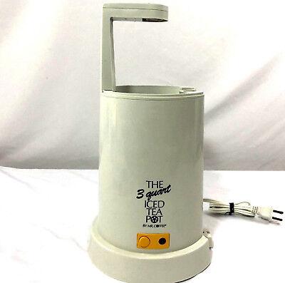 Mr. Coffee 3 Quart Iced Tea Pot Maker Brewer TM3 Base Part Yellow