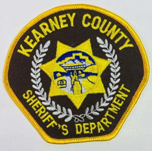 Kearney County Sheriff Nebraska NE Patch