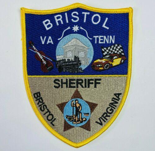 Bristol Sheriff Virginia VA Tennessee TN Race Car Train Patch