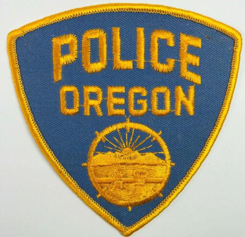 Oregon Police Lucas County Ohio Patch (A4)