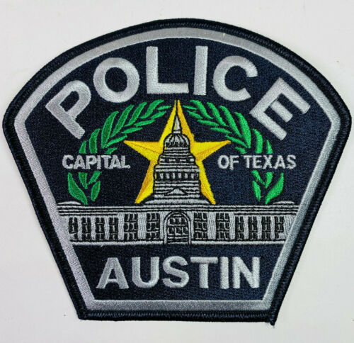 Austin Police Capital Of Texas TX Patch A5A
