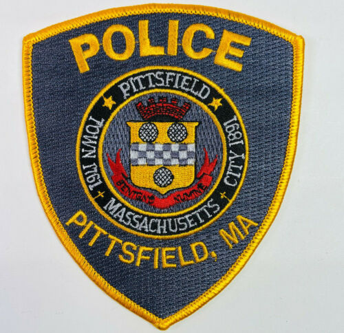 Pittsfield Police Berkshire County Massachusetts MA Patch A3H