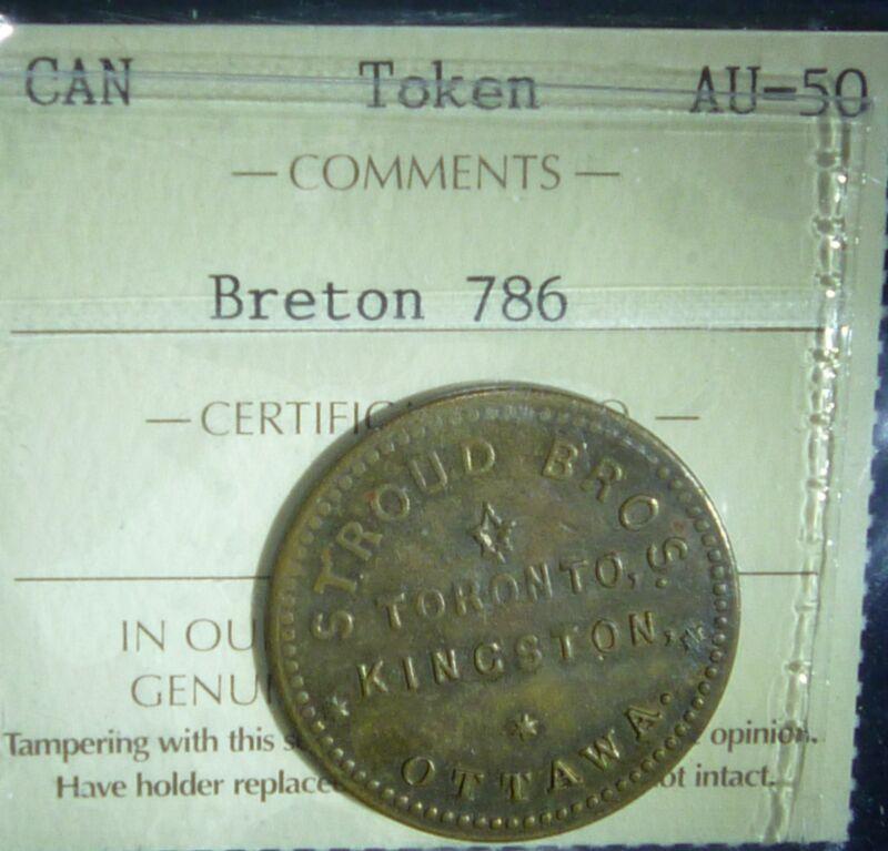 CANADA TOKEN BRETON  # 786