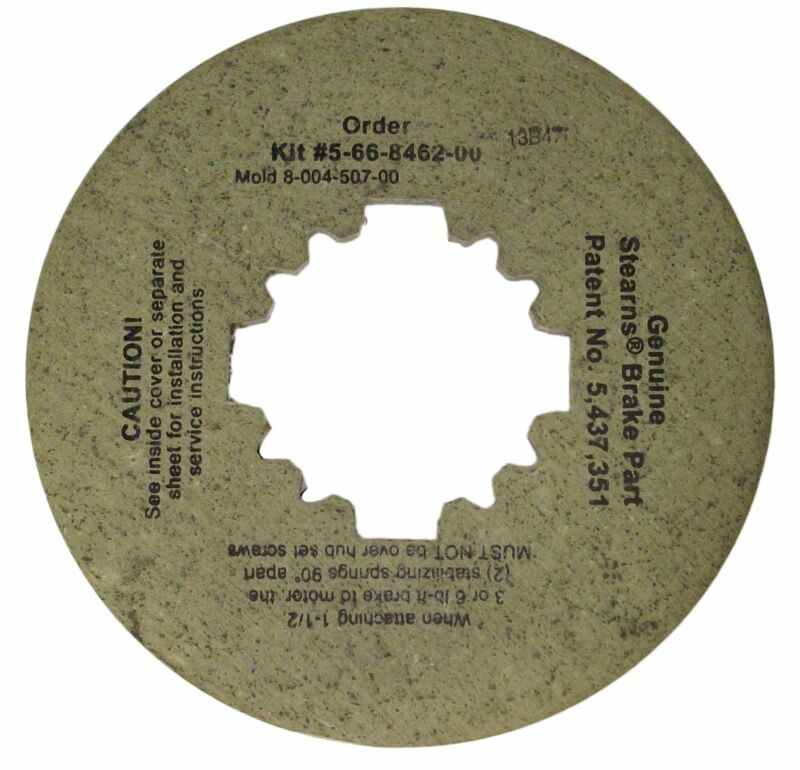 Stearns Brake Friction Disc (8-004-507-00) Replacement # 5-66-8462-00