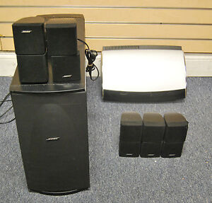 bose lifestyle av28 media center home theatre system used. Black Bedroom Furniture Sets. Home Design Ideas