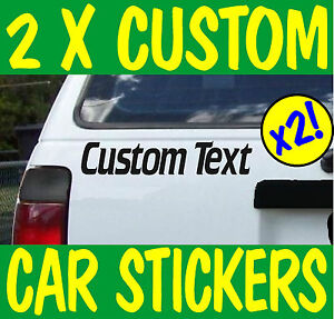 PERSONALISED-CUSTOM-CAR-STICKER-Vinyl-Name-Lettering-Graphics-Bumper-Parts-decal