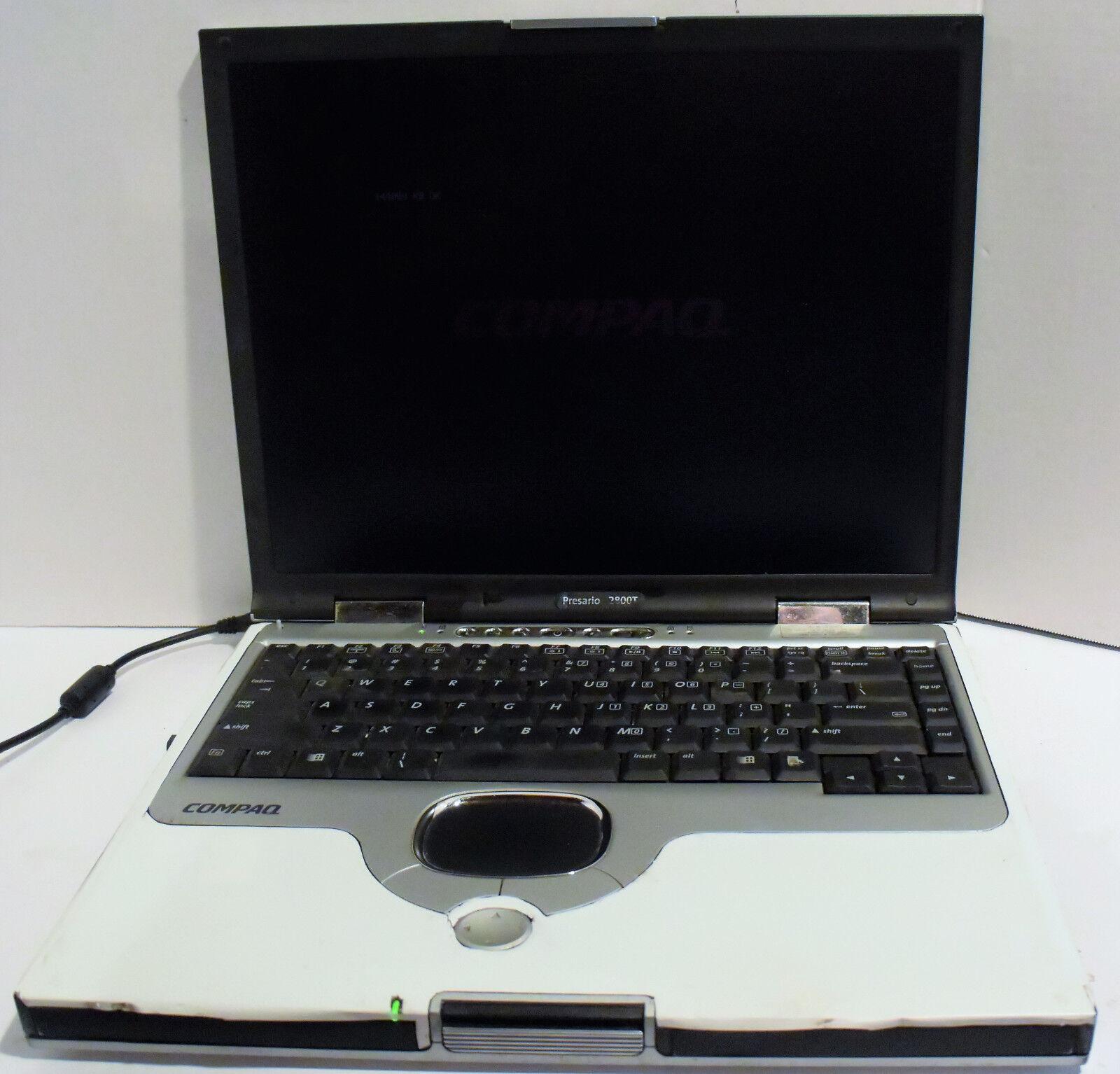 Compaq Presario 2800T 15'' Notebook - Parts/Repair AS IS