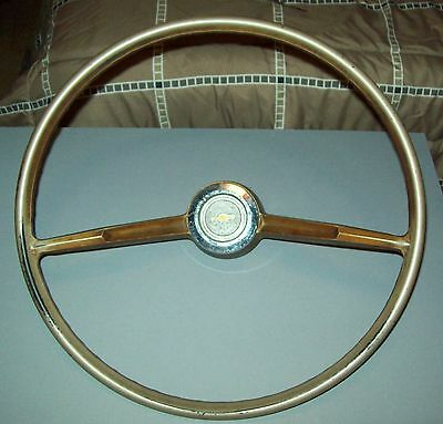 1966 1967 CHEVY II Steering Wheel #9743500 ORIGINAL OEM nova