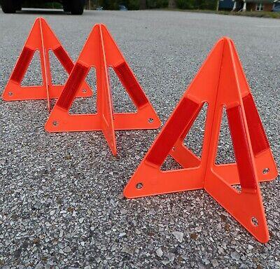 Triangle Reflector Safety Triangle Car Emergency Roadside Kit 1 Pack Gabriel Triangle Emergency Warning