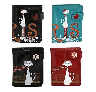 Shagwear Traveling Cats Short Faux Leather Bi-Fold Wallets (Choose Design) ()