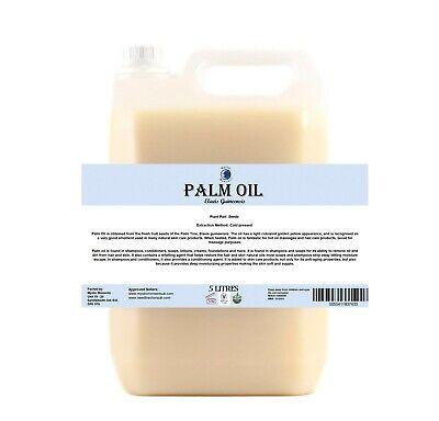 Palma Aceite Base - 5 Litros - Adquirido De Rspo Certificado Fuente...