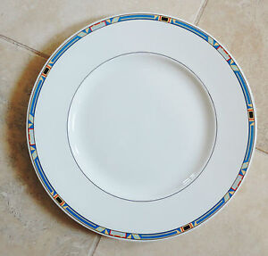 details about villeroy boch bone china dinner plate in the bari. Black Bedroom Furniture Sets. Home Design Ideas