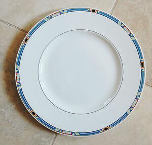 details about villeroy boch bone china dinner plate in the bari. Black Bedroom Furniture Sets. Home Design Ideas