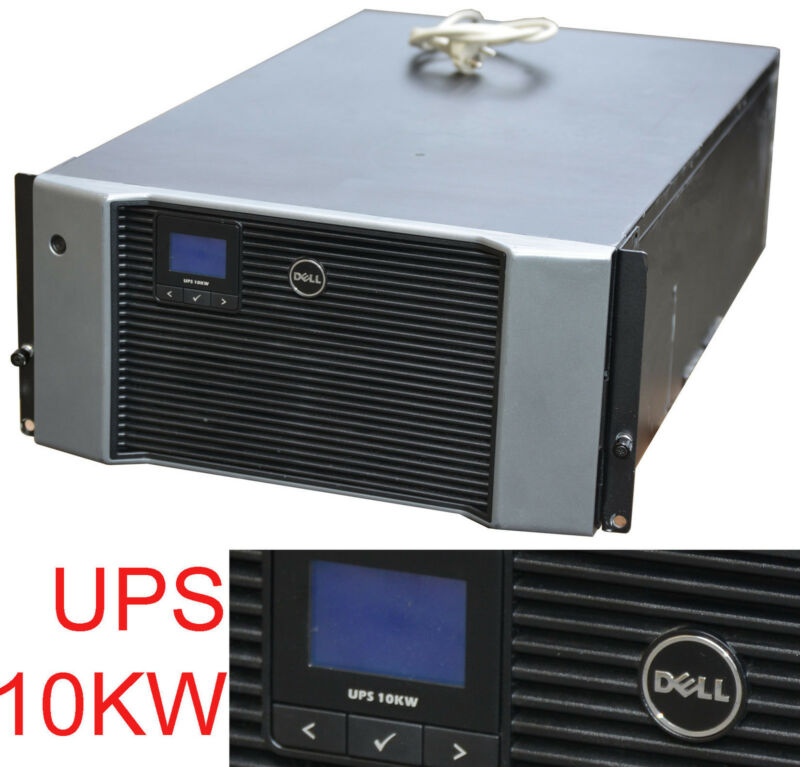 "10kw 10.000w 18 7/8in 19"" 5he Smart Ups Usv Dell For Serverrack All Batteries 28"