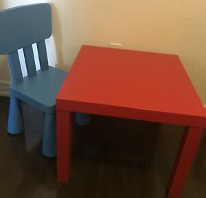 IKEA table chair