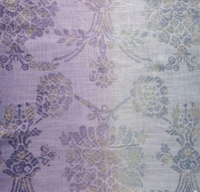 Designers Guild Fabric, Sukumala'  Thistle, 94 cm long, linen blend,