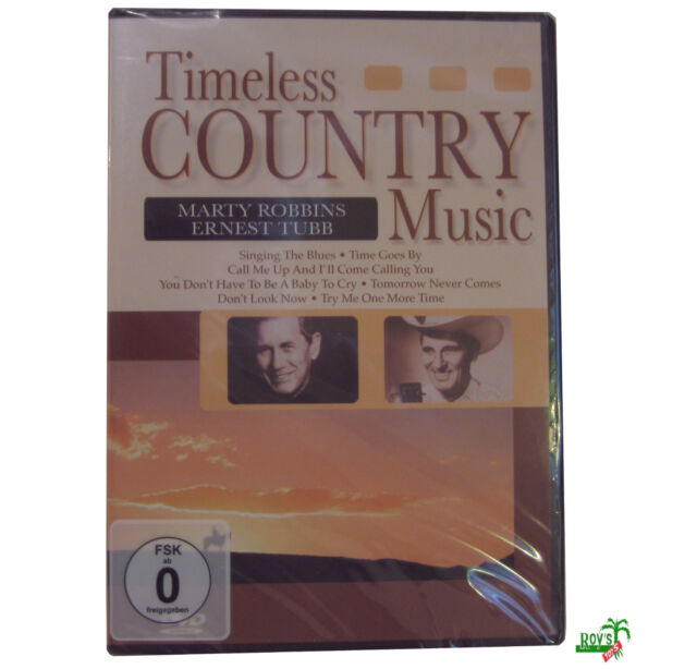 Video DVD, Timeless Country Music - Marty Robbins & Ernest Tubb Musik NEU