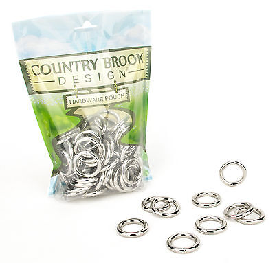 50 - Country Brook Design 3/4 Inch Welded Heavy O-Rings - $8.95