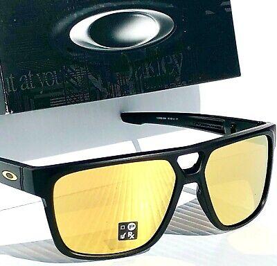 NEW* Oakley CROSSRANGE PATCH Matte Black w 24K GOLD Sunglass 9382-23 DISPATCH 2