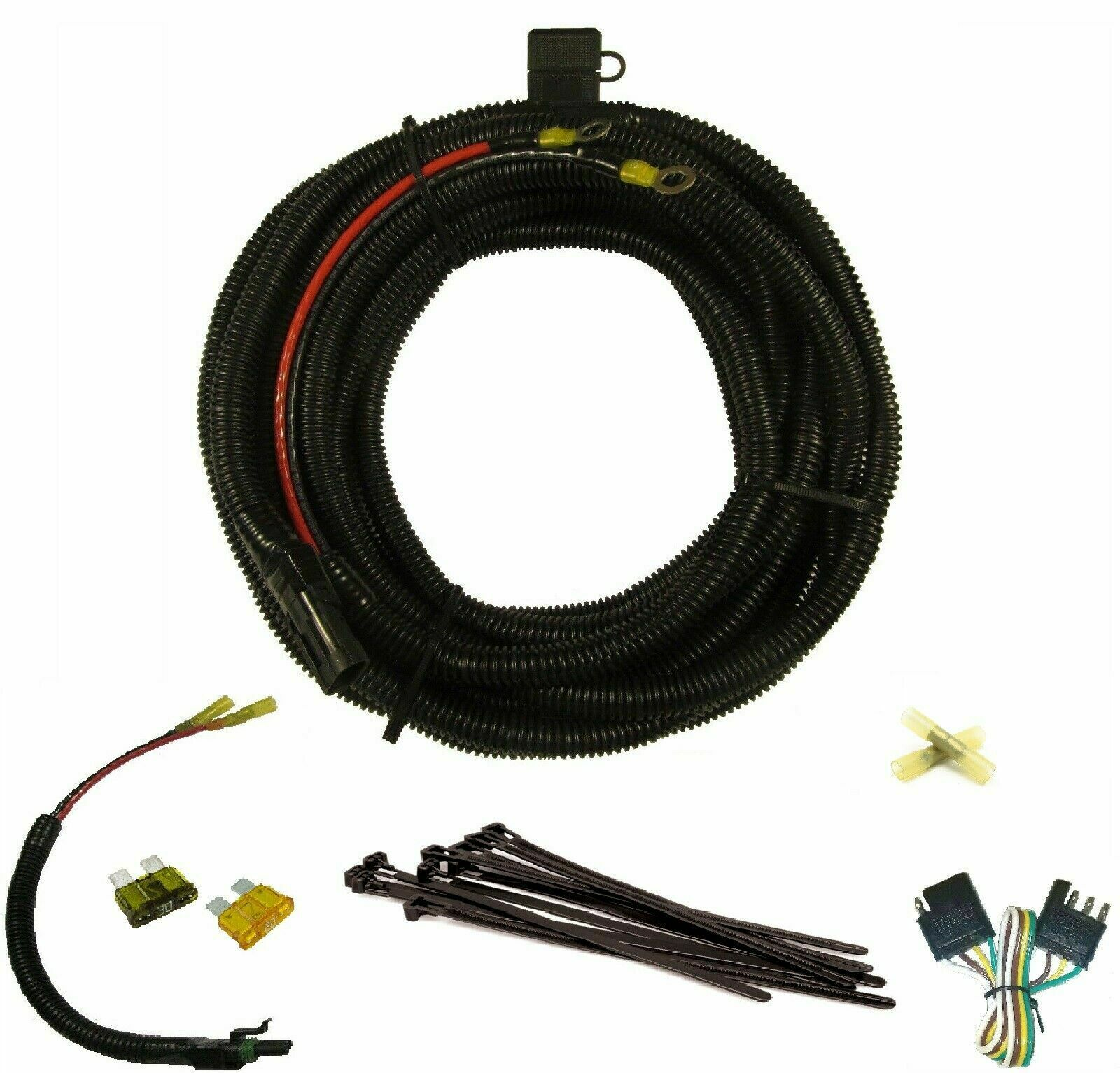 hamar electric lift battery cable wiring harness 25ft 10 gauge harmar mobility dealers harmar al500 wiring harness #5