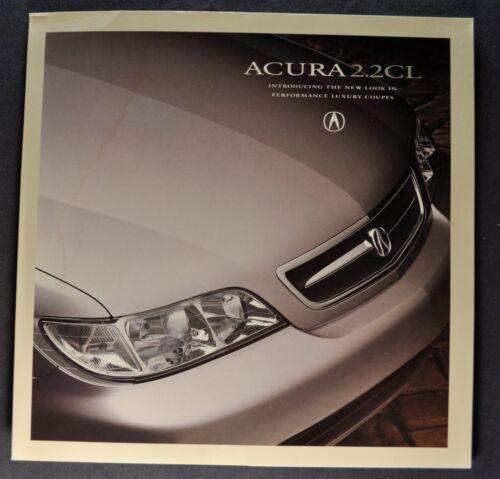 1996 Acura 2.2CL Sales Brochure Folder Nice Original 96