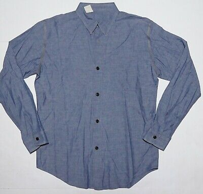 N. Hoolywood Mister Hollywood Made in Japan Chambray Shirt LS Blue Button Up