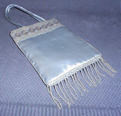 Perlen Abend Handtasche (Damen Handtasche, Abendtasche mitPERLEN, Magnetverschluss,wie NEU, Lagerspuren)